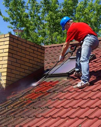 Roof Cleaning & Restoration